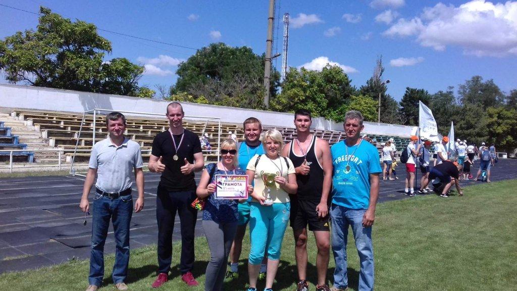 Сотрудники Сакских тепловых сетей одержали победу в спартакиаде трудовых коллективов города